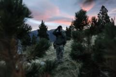 Approche au Cerf dans les Pyrénées Orientales